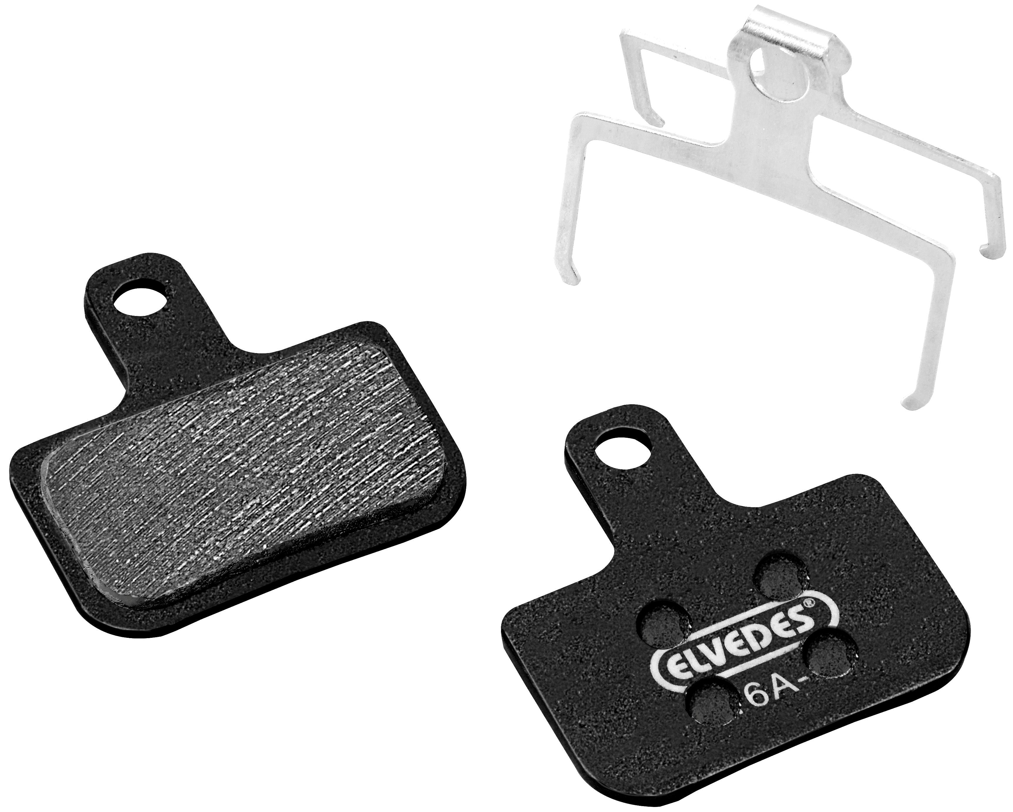 Schijfremblokset Elvedes Metalic Carbon Avid DB1 / DB3 and SRAM DB5 / Level / Level T / Level TL (1 paar) - FABBO