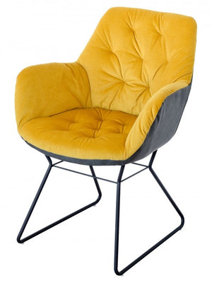 Open image in slideshow, Leyton Two-tone Chair