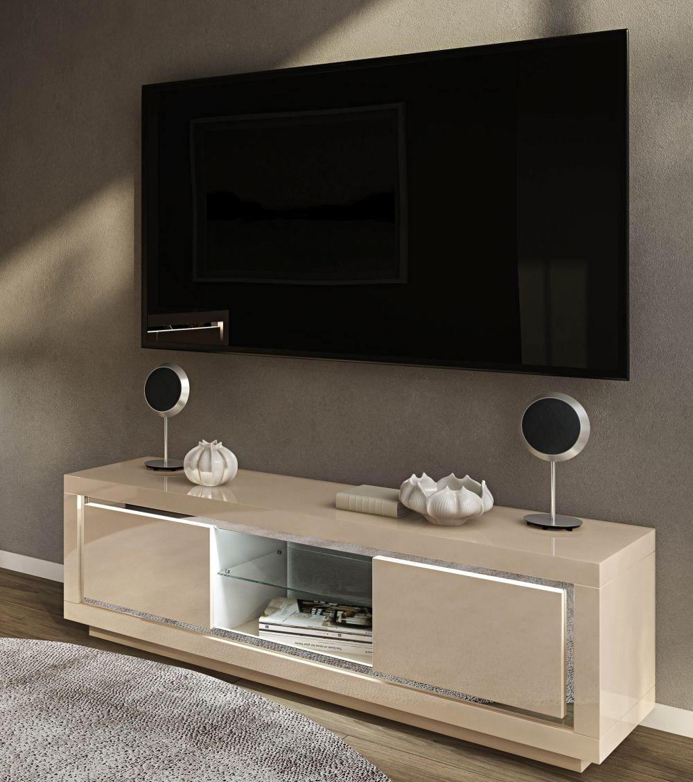 Sardinia Entertainment Unit With LED