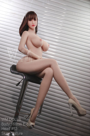 E cup 2020 Oral Sex Doll 166cm Standing Big Tits Little Boobs Well Defined Hips