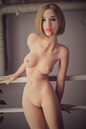 A realistic tpe sex doll by WM-Dolls. 157cm B Cup breasts, naked.