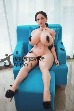 JY Dolls 159cm Big Breast + Silicone Head Laura - lovedollshop