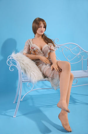 QITA 168cm B cup flat chest mature sex doll Natalie - lovedollshop