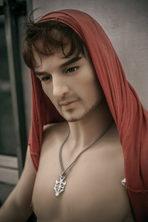 QITA 175cm strong handsome muscle male sex doll Jonny - lovedollshop