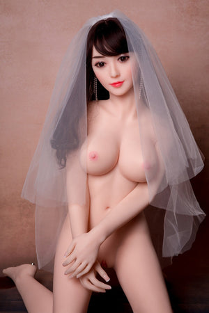 Yuqu 140cm Asian C cup medium breasts curvy slim Petite sex doll-Mixue - lovedollshops.com