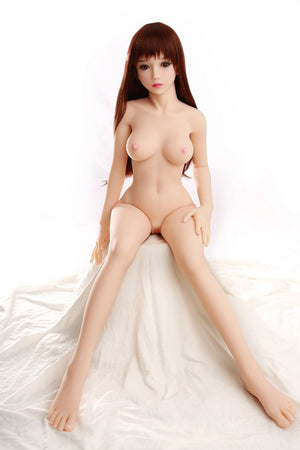 Yuqu 145cm B cup small breasts pure and slim cute sex doll Shimin - lovedollshops.com