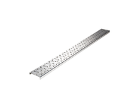 "Diamond Plate 3"" x 32"" Strip with Formed Edges"
