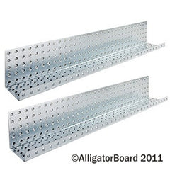 "Galvanized 5"" x 32"" Formed Shelves"