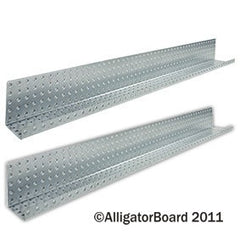 "Galvanized 5"" x 48"" Formed Shelves"