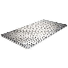 "Diamond Plate 16"" x 32"" Panel with Formed Edges"