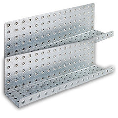 "Galvanized 3"" x 16"" Formed Shelves"