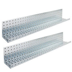 "Galvanized 3"" x 32"" Formed Shelves"