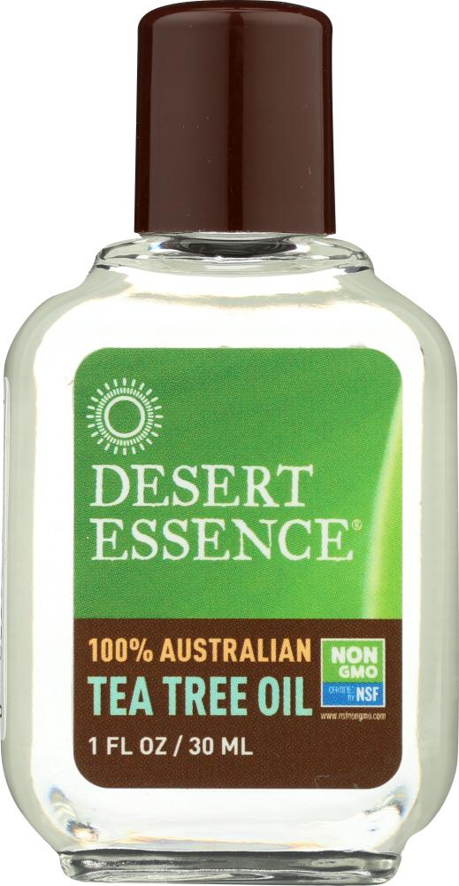 DESERT ESSENCE: 100% Australian Tea Tree Oil, 1 oz