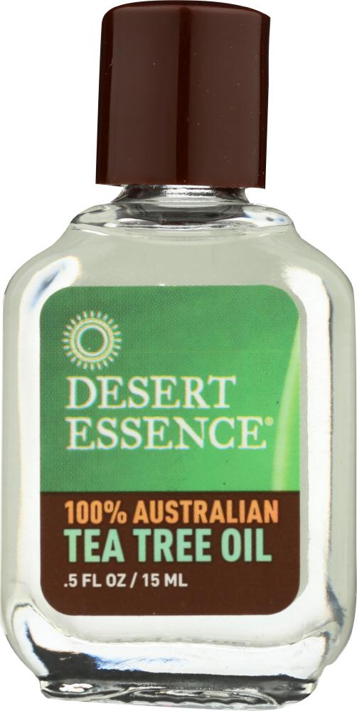 DESERT ESSENCE: 100% Australian Tea Tree Oil, 0.5 oz