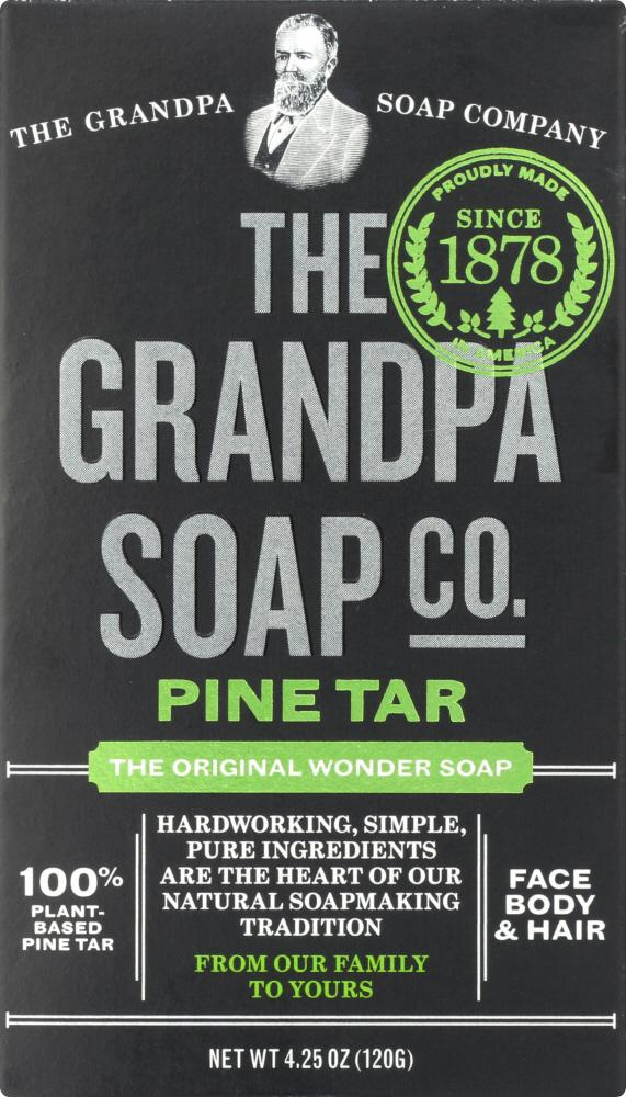 GRANDPA'S: Wonder Pine Tar Soap, 4.25 Oz