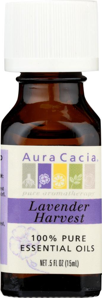 AURA CACIA: 100% Pure Essential Oil Lavender Harvest, 0.5 oz