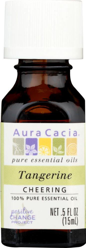 AURA CACIA: Essential Oil Tangerine 0.5 oz