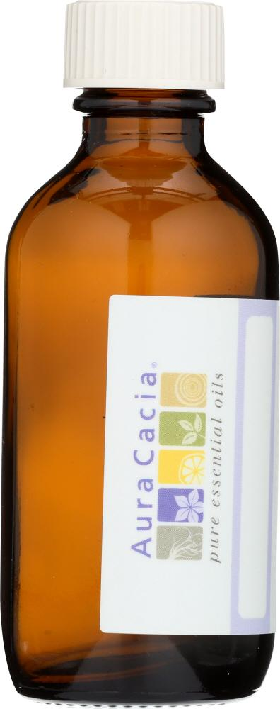 AURA CACIA: Amber Bottle with Writable Label, 2 oz