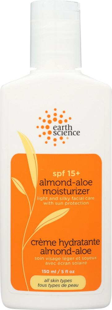 EARTH SCIENCE: SPF 15+ Almond-Aloe Moisturizer, 5 oz