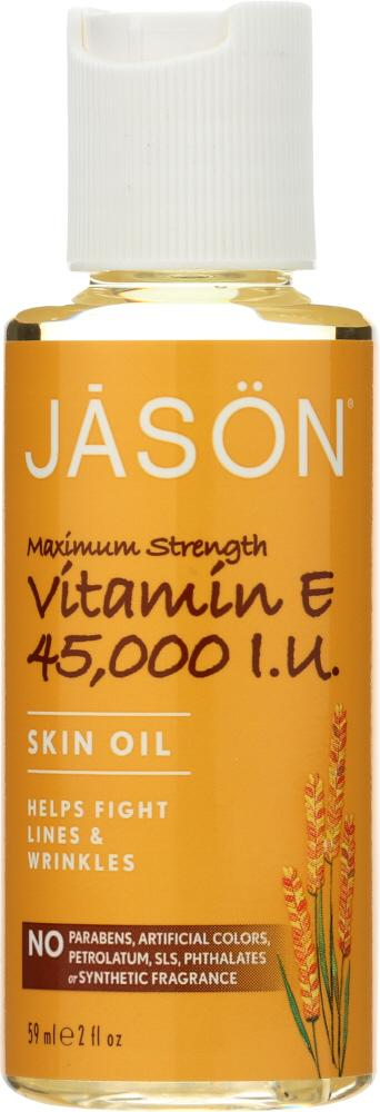 JASON: Vitamin E 45,000 IU Maximum Strength Oil, 2 oz