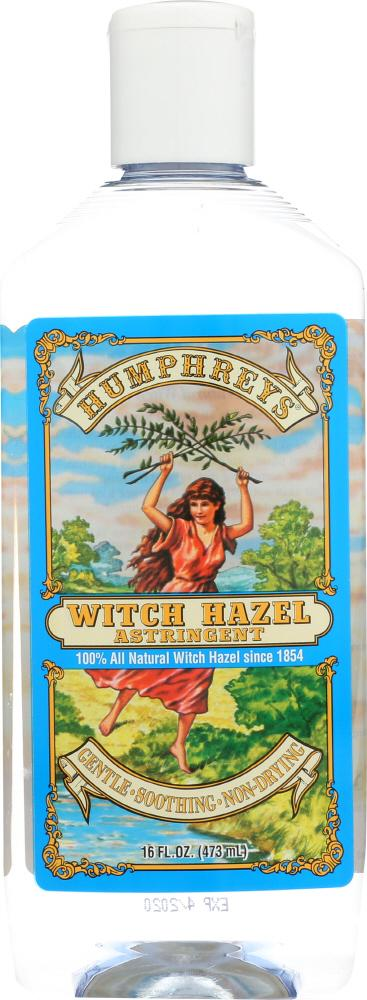 HUMPHREY'S: Witch Hazel Astringent, 16 oz