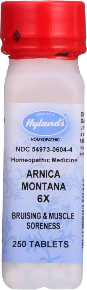 HYLAND: Arnica Montana Homeopathic Medicine 6X, 250 Tablets
