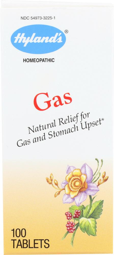 HYLAND'S: Relief for Gas and Upset Stomach, 100 tablets