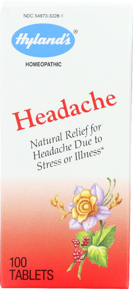 HYLAND'S: Headache Relief, 100 tablets