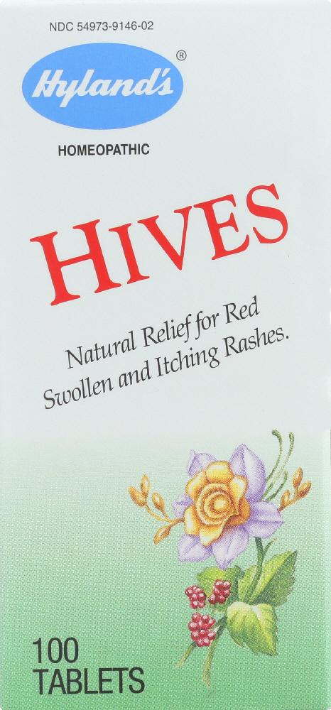 HYLAND'S: Hives, 100 Tablets