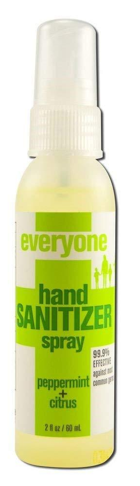 EVERYONE: Peppermint Citrus Hand Sanitizer Spray,  2 oz