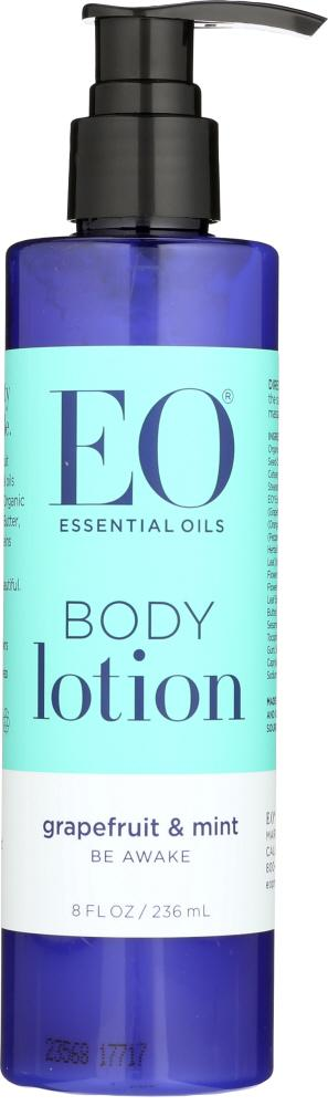 EO: Body Lotion Grapefruit and Mint, 8 oz