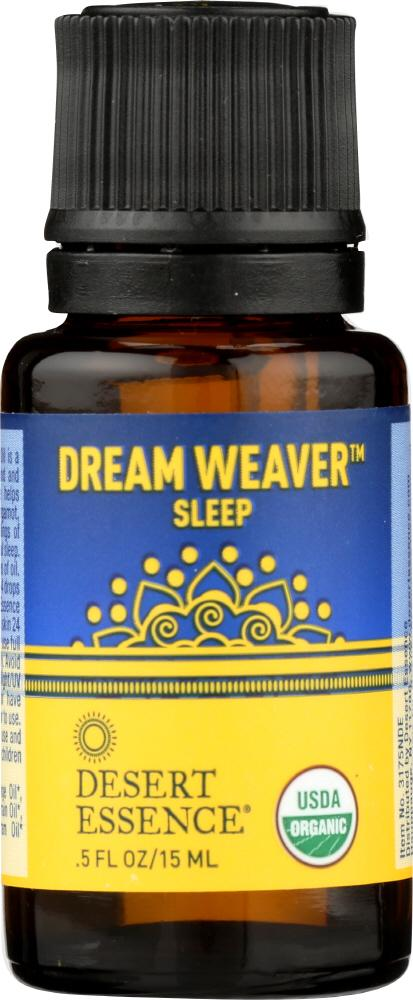 DESERT ESSENCE: Dream Weaver Organic Essential Oil Blend, 0.5 oz