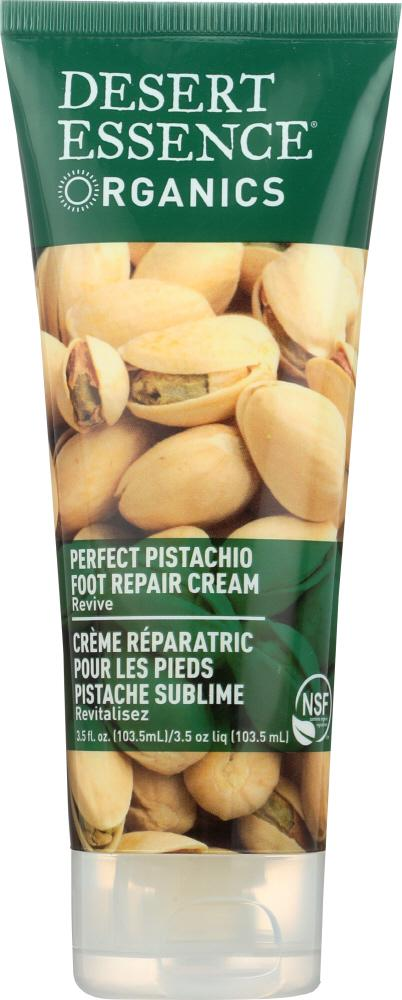 DESERT ESSENCE: Cream Foot Pistachio, 3.5 fl oz