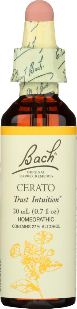 BACH ORIGINAL FLOWER REMEDIES: Cerato, 0.7 oz