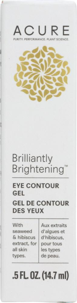 ACURE: Brilliantly Brightening Eye Contour Gel, 0.5 fl oz