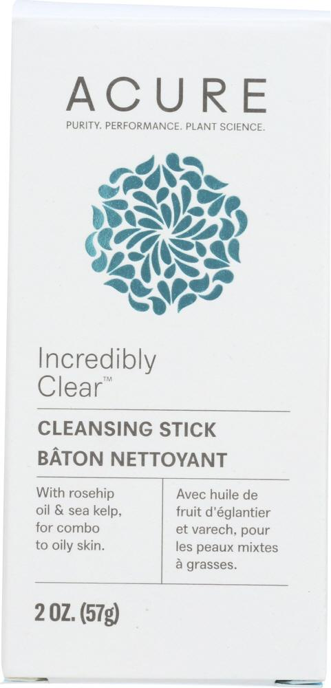 ACURE: Incredibly Clear Cleansing Stick, 2 oz