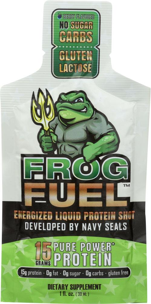 FROG FUEL: Energized Protein Shot 1 Oz