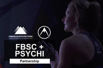 Psychi Partners With The Foundation Of British Sport Climbing
