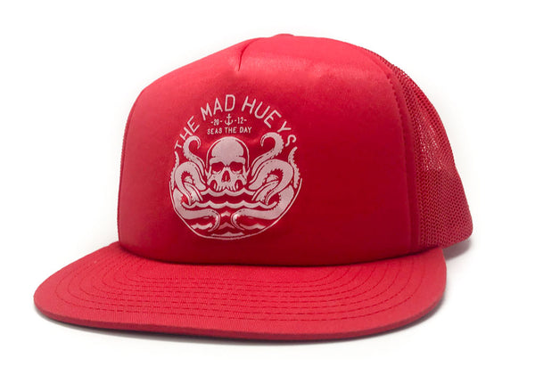 Seas the Day Trucker Red