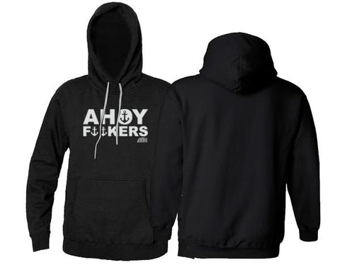 Ahoy Fuckers Fleece Black