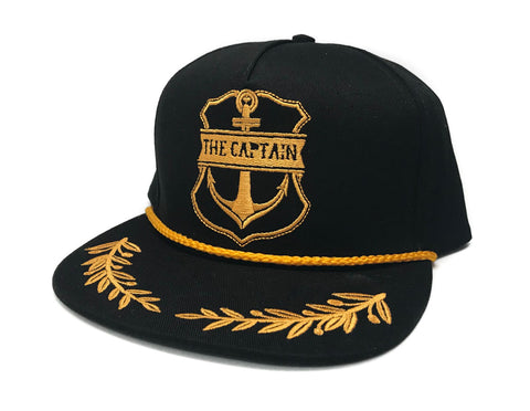 Captain Snapback BLACK