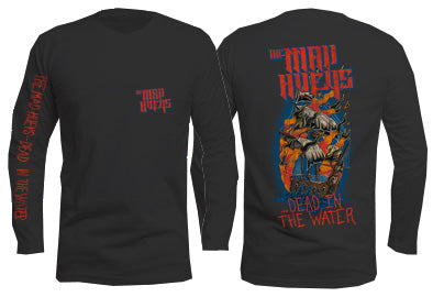 Dead in The Water Long Sleeve Black