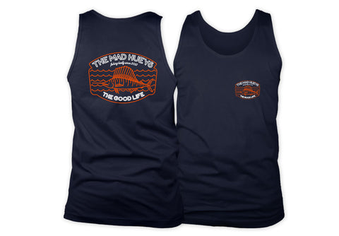 Good Marlin Tank Top Navy