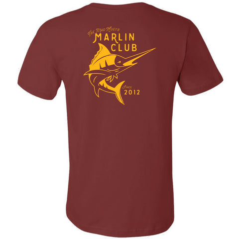 Marlin Club T-Shirt Maroon
