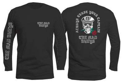 Rose Captain Long Sleeve Black