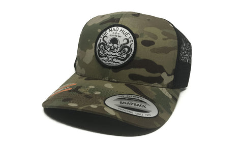 Seas The Day Trucker Hat Camo