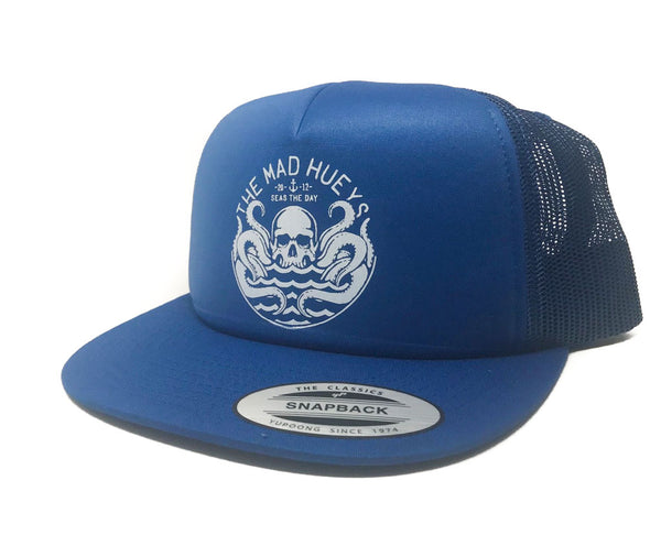 Seas the Day Trucker Royal Blue