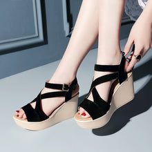 Load image into Gallery viewer, Women Sexy High Heels Sandals
