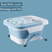Load image into Gallery viewer, Folding Foot Bath Foot Basin Portable Massage Bucket