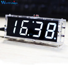 Load image into Gallery viewer, DIY KIT Electronic Clock LED Microcontroller Kit Digital Clock